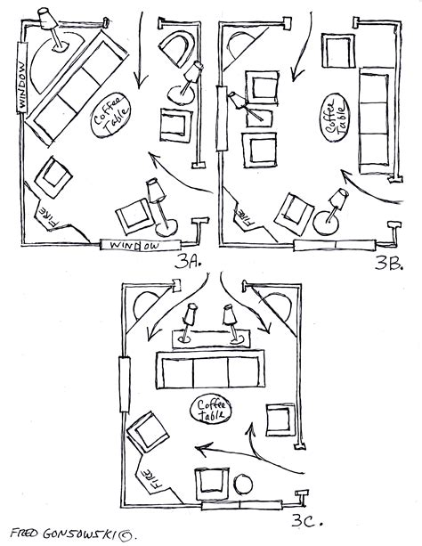 furniture layout arranging furniture around a fireplace in the corner of a