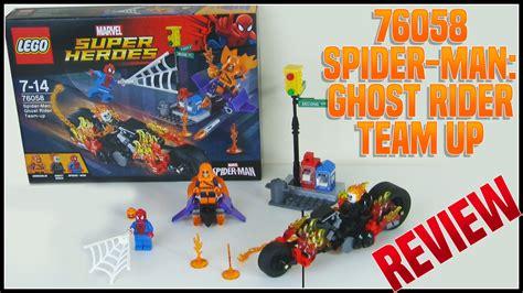 Lego Marvel Heroes 76058 Spidermanghost Rider Team Up Set lego 76058 spider ghost rider team up review