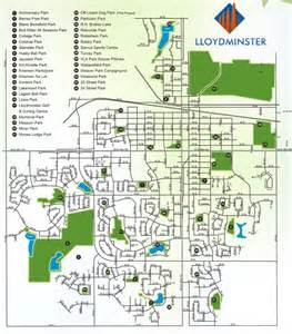 lloydminster canada map lloydminster ab official website parks map
