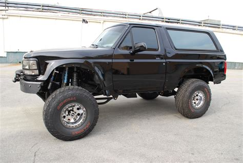 prerunner bronco ford bronco f 150 prerunner front bumper with abs