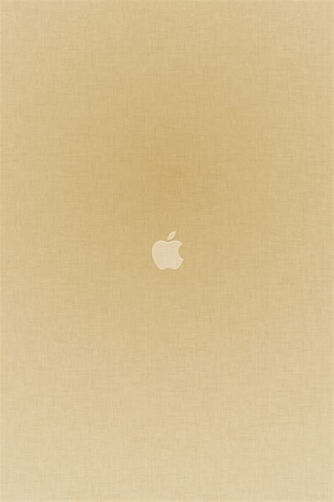 freeios tiny apple gold parallax hd iphone ipad wallpaper