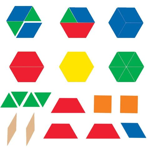 pattern making with different shapes giant magnetic pattern blocks