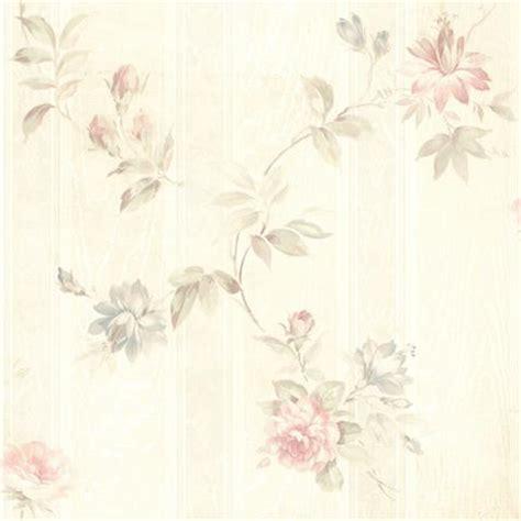 436 42314 White Floral Trail Adeline Brewster Wallpaper » Home Design 2017