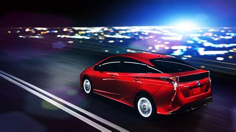 what car toyota toyota prius reveals the 2016 prius with quot sporty style