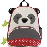 Skiphop Zoo Bib Panda skip hop zoo tuck away bib panda