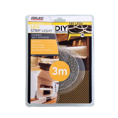 3m led lights arlec 3m warm white silicone coated led light