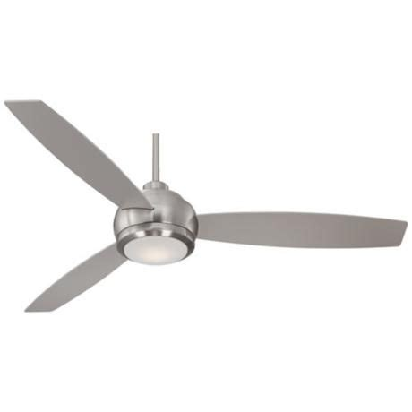 60 quot casa aleso brushed nickel led ceiling fan ceiling
