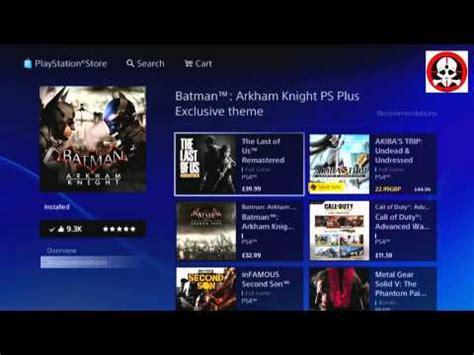 ps4 themes batman how to find your exclusive theme batman arkham knight