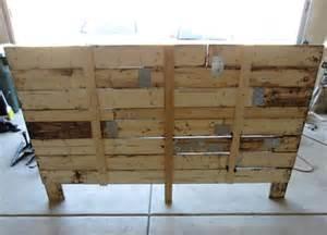 Used Bench Drill Pallet Headboard Tutorial Pallet Furniture Plans