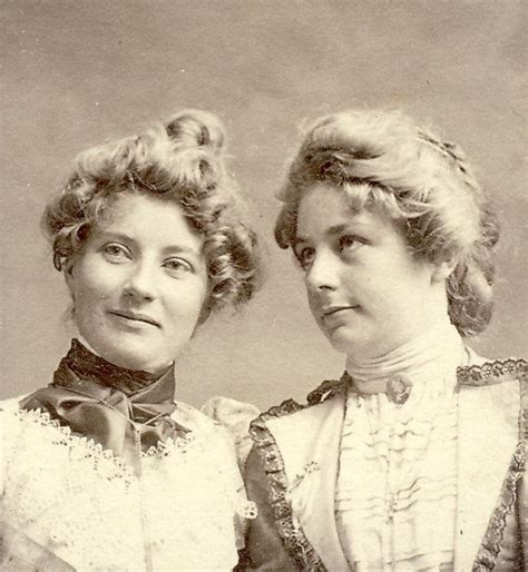 hair up 1900 victorian well dressed women with blonde hair up in buns