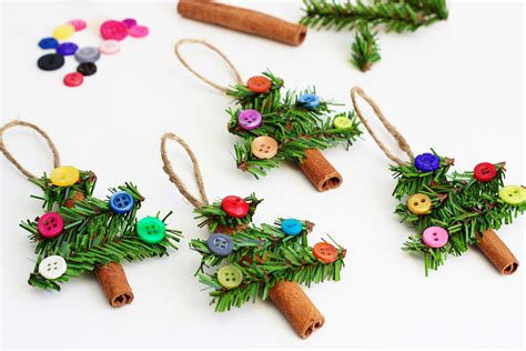 crafts for ornaments cinnamon stick ornament brown hairs
