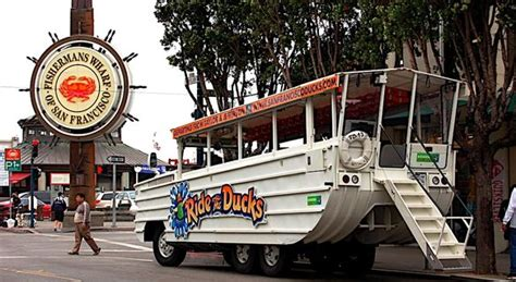 duck boat tours san francisco san francisco duck boat tour land and water adventure