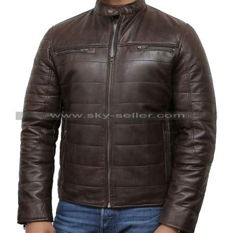 padded motorcycle jacket men s black puffer padded motorcycle leather jacket
