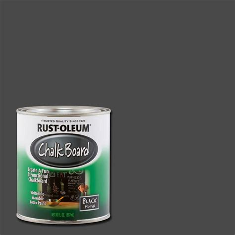 chalkboard paint national bookstore rust oleum specialty 30 oz flat black chalkboard paint