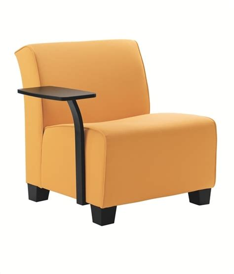 Lounge Chair With Tablet Arm by With Tablet Arm Inds