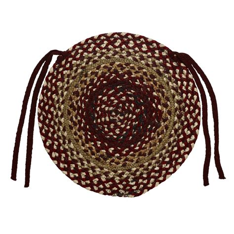chair pads braided braided chair pads country primitive by ihf set of 4