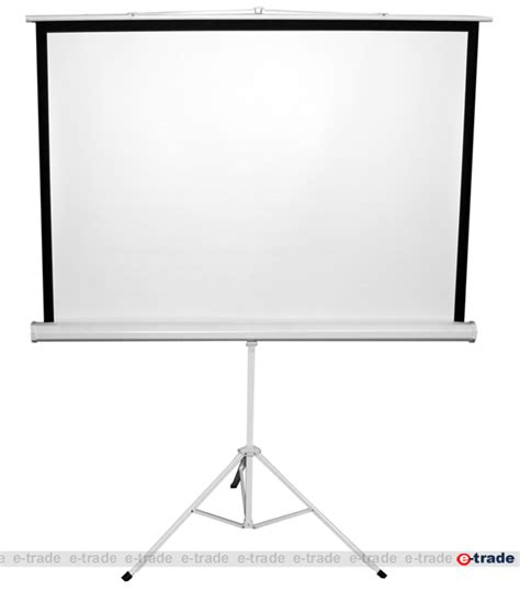 Tripod Lcd Proyektor tripod projection screen for dlp lcd projector 150 x 150 cm 4 3 and 16 9 ebay