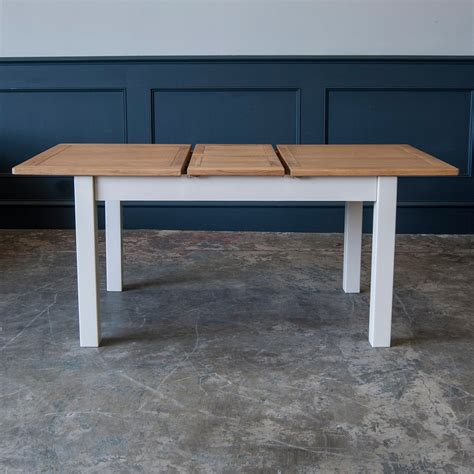 portland table and chairs portland oak and painted extending dining table portland