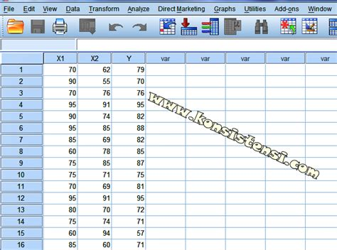 cara uji normalitas data dengan spss 20 cara uji korelasi berganda dengan spss konsistensi