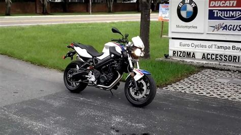 Bmw Motorcycle Youtube by 2011 Bmw F800r Motorcycle Youtube
