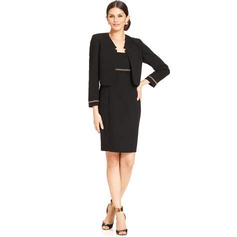 Dress With Jacket black dress and jacket coat nj
