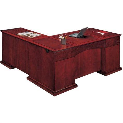 dmi mar executive l shaped desk 7302 4x