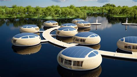 floating house floating house waternest 100 by giancarlo zema