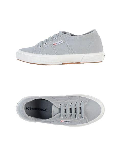 light grey sneakers superga sneakers in gray light grey lyst