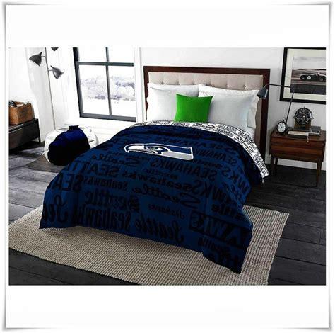 Seahawks Bed Set by Bedding Comforter Nfl Seattle Seahawks Bedroom