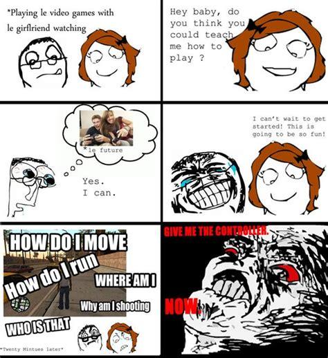 Girls Playing Video Games Meme - 60 funny rage comics le rage comics