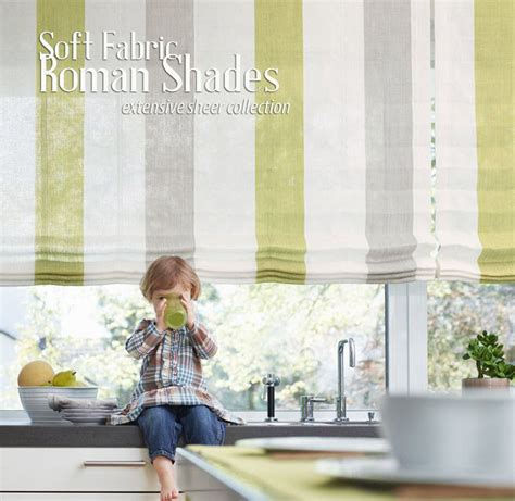 fabric for bathroom blinds custom shades love this striped sheer fabric for roman