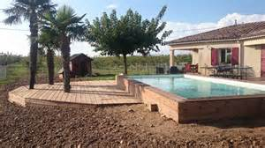 pourquoi choisir une piscine semi enterr 233 e upgo