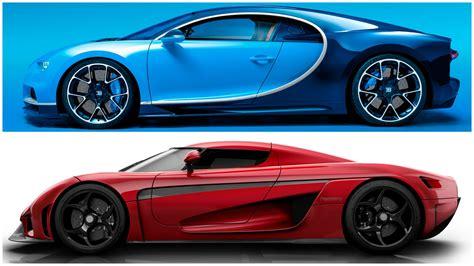 koenigsegg regera vs bugatti chiron supecars bugatti chiron vs koenigsegg regera