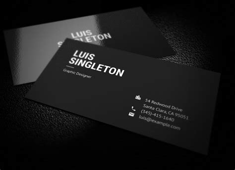 Minimalistic Business Card Template Free by Free Clean And Minimal Popular Minimalist Business Card