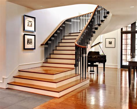 for stairs and landing staircase traditional with curved