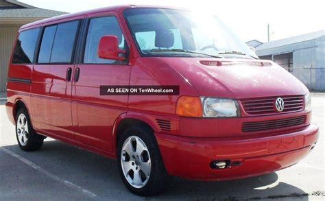 2002 volkswagen eurovan 2002 volkswagen eurovan mv 3 door 2 8l