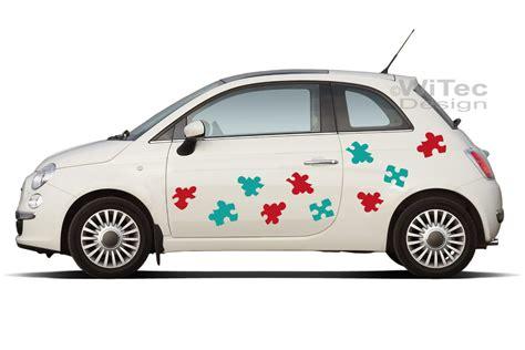 Aufkleber Auto Ford by Autoaufkleber Puzzle Set Auto Aufkleber