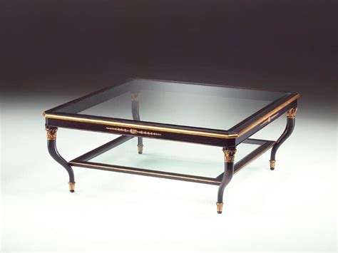 Luxury Glass Coffee Tables Wooden Coffee Table Glass Top For Living Room Idfdesign