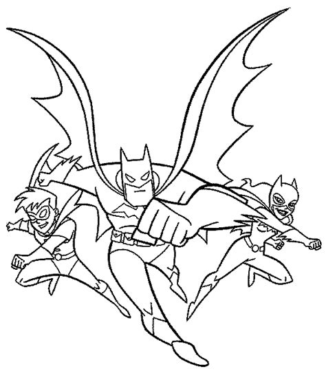 coloring books batman and friends to print and free download