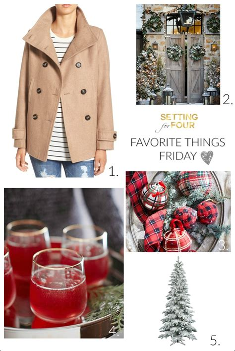 Friday Fashion Fav by Favorite Things Friday On Thursday Setting For Four