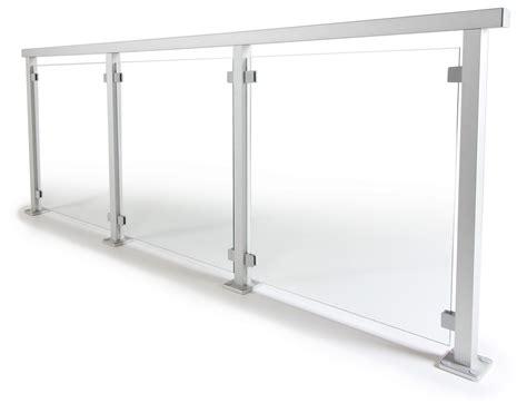 alu gel nder bausatz terrassengel 228 nder mit glas komplette baus 228 tze