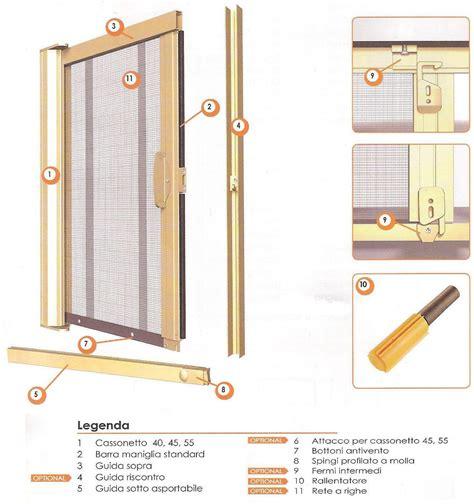 zanzariere porta finestra prezzi zanzariera scorrevole laterale