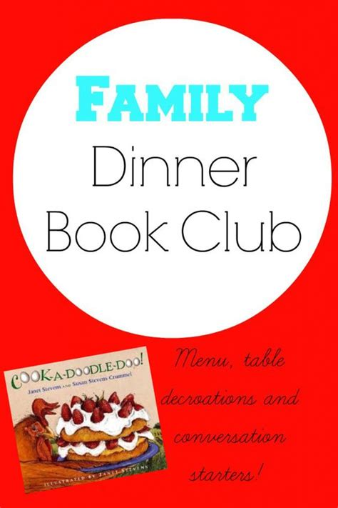 doodle doo club lahore family dinner book club cook a doodle doo i the o