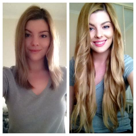 18 inch hair extensions before and after 18 inch clip in hair extensions before and after long