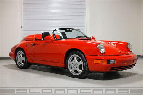 Porsche 964 Speedster by 1994 Porsche 964 Speedster Guards Red 10 512 Miles Sloan
