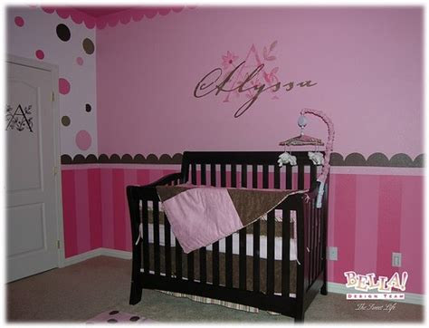 cute themes for baby girl rooms bedroom ideas for a baby girl home delightful