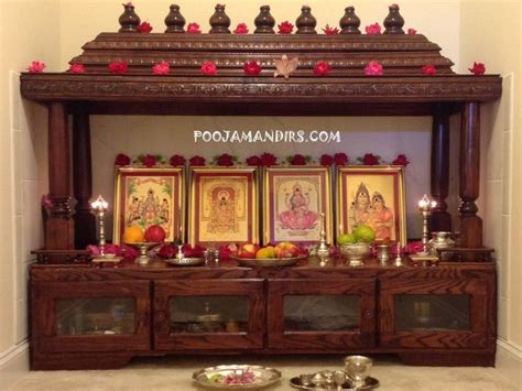 decorate mandir at home 272 best images about pooja room design on pinterest