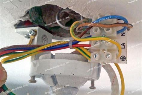 Branchement Ventilateur Plafond by Branchement 201 Lectrique Questions R 233 Ponses Probl 232 Mes