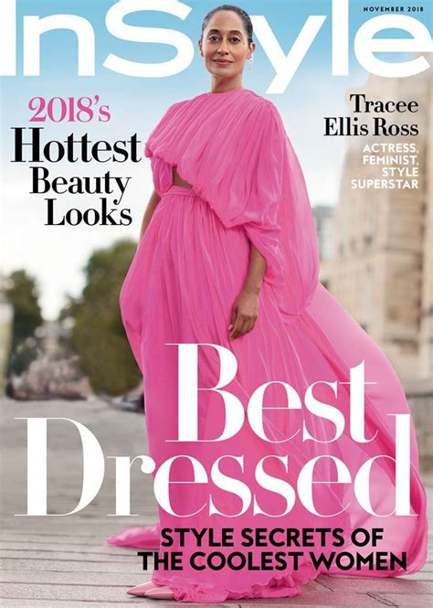 tracee ellis ross magazine cover actress tracee ellis ross covers instyle magazine s