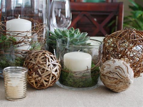 centerpieces made from nature centerpieces entertaining ideas themes for every occasion hgtv